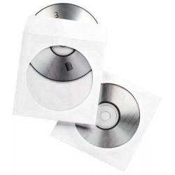 ENVELOPPES pqt100 PAPIER POUR CD