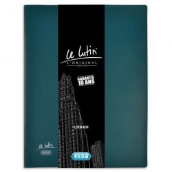 PROTEGE DOCUMENT LUTIN URBAN 40 VUES BLEU PETROLE 400091667