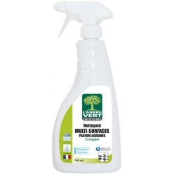 L'ARBRE VERT NETTOYANT MULTI SURFACES AGRUMES ALIMENTAIRE SPRAY 740ML ECOLABEL