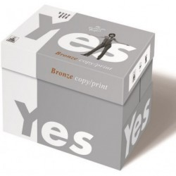 PAPIER YES BRONZE A4 80G BOX 2500 FEUILLES YES BRONZE A4 80G BOX