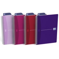 CAHIER RELIURE INTEGRALE A5 180 PAGES 90G L7M My Style 100101291