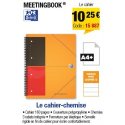 CAHIER MEETING BOOK LIGNE