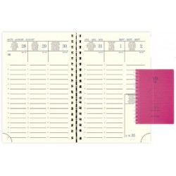 AGENDA SEMAINIER 16 MOIS SAD 13W LINICOLOR