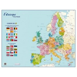 CARTE MURALE EUROPE POLITIQUE