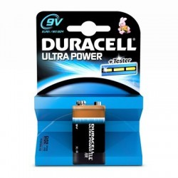 PILE DURACELL ULTRA POWER MN1604 9V