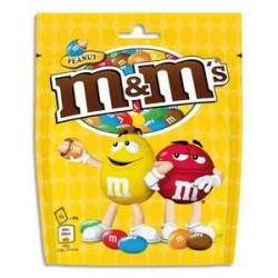 LOT DE 27 POCHONS DE 200G DE M&M'S