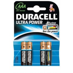 PILE DURACELL ULTRA POWER MN 2400 LR03x4