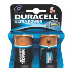 PILE DURACELL ULTRA POWER MN1300 LR20x2