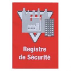 REGISTRE DE SÉCURITÉ REGLES RELATIVES À UN ERP 16.5X23.4X1CM