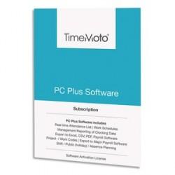 LOGICIEL TM PC SOFTWARE PLUS POUR POINTEUSE TIMEMOTO