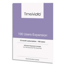 PACK EXTENSION TM CLOUD 100 UTILISATEURS SUPPLÉMENTAIRES