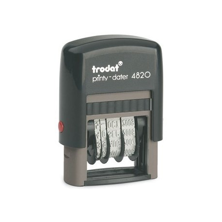 DATEUR AUTOMATIQUE TRODAT PRINTY 4820 4 MM : 70% RECYCLE ENCRIER 64911