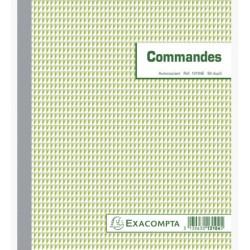 CARNETS COMMANDES- 21X18 EXACOMPTA50-DUPLI
