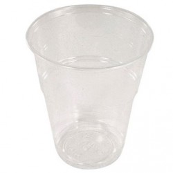 GOBELET CRYSTAL POP 23CL **PQT100** EN13432 100% COMPOSTABLE P/ BOISSONS FROIDES