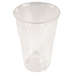 GOBELET CRYSTAL POP 33CL **PQT50** EN13432 100% COMPOSTABLE P/ BOISSONS FROIDES