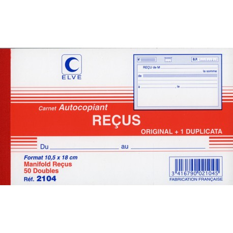 MANIFOLD RECU SANS TVA 502 105x180