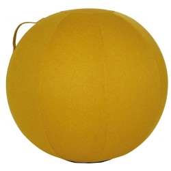 BALLON D'ASSISE ERGONOMIQUE JAUNE
