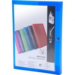 BOXING PERSONNALISABLE DOS DE 25 MM PP TRANSLUCIDE / 7 COLORIS ASS 52800