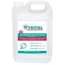 GEL LAVANT DESINFECTANT MAIN 5L BACTERICIDE WYRITOL PV56150801