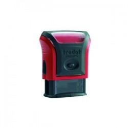 TIMBRE PERSO PRINTY 4910 PLAQUE 9x26 ROUGE