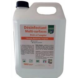NETTOYANT DESINFECTANT VIRUCIDE 5L SANS RINCAGE EN14476