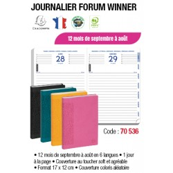 AGENDAS SEPT SEPT FORUM JOURNALIER WINNER SAS
