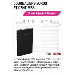 AGENDA LONG 35x14 1 JP EURCT ASSORTIS