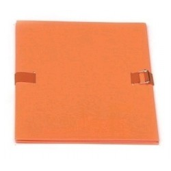 CHEMISE EXTENSIBLE FORMAT 24x32 FERMETURE PAR SANGLE ORANGE