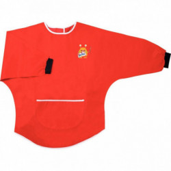 TABLIER A MANCHES 3-5 ANS Rouge