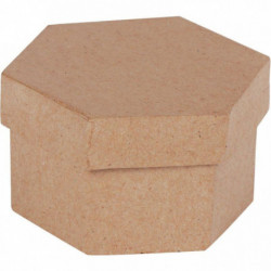 LOT 10 BTE CARTON HEXAG DIA8CM
