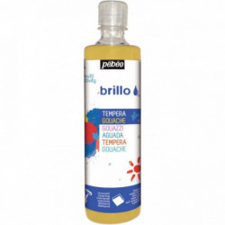 GOUACHE BRILLANTE BRILLO 500ML OR