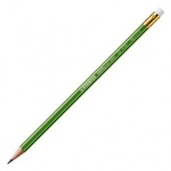BTE 12 CRAYONS BOUT GOMME GREENGRAPH FSC
