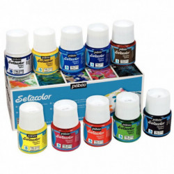 SETACOLOR OPAQUE ASSORTIMENT 10X45ML PEBEO