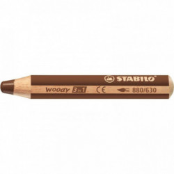 CRAYON DE COULEUR WOODY MARRON