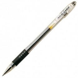 STYLO BILLE GEL PILOT G1 GRIP NOIR
