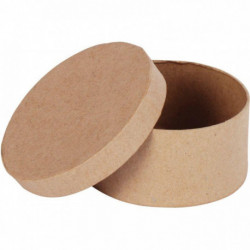 LOT 10 BTE CARTON RONDE DIA7CM