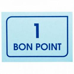 PAQUET DE 20 PLANCHES DE 50 BONS POINTS