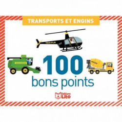 BOITE DE 100 IMAGES TRANSPORTS ET ENGINS