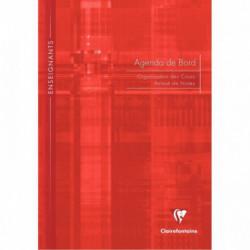 AGENDA DE BORD NON MILLÉSIMÉ, 144 PAGES, FORMAT A4 : 21X29,7 CM