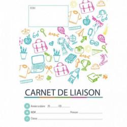 CARNET DE LIAISON PRIMAIRE + PROTÈGE CARNET