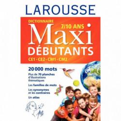 DICTIONNAIRE LAROUSSE MAXI DEBUTANTS CE-CM