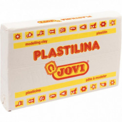 PAIN DE 350 GRAMMES DE PLASTILINA BLANC