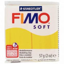 BLOC DE PÂTE À MODELER FIMO SOFT 57 GRAMMES TOURNESOL