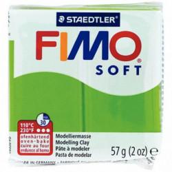 BLOC DE PÂTE À MODELER FIMO SOFT, 57 GRAMMES VERT POMME
