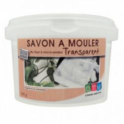 BLOC DE 500 GRAMMES DE SAVON À MOULER TRANSPARENT