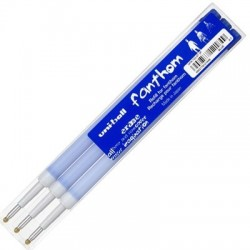 RECHARGES STYLO THERMOSENSIBLE FANTHOM BLEU x3