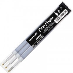 RECHARGES STYLO THERMOSENSIBLE FANTHOM NOIR x3
