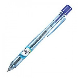 STYLO BILLE RETRACTABLE B2P BE GREEN MOYEN BLEU PILOT