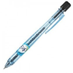 STYLO BILLE RETRACTABLE B2P BE GREEN MOYEN NOIR