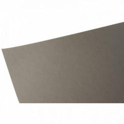 PAQUET DE 10 FEUILLES PAPIER DESSIN COULEUR FORMAT 50X65 CM 160 G GRIS ARDOISE